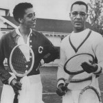Dr. Hubert Eaton, shown with Althea Gibson